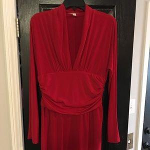 Boston Proper Red Dress